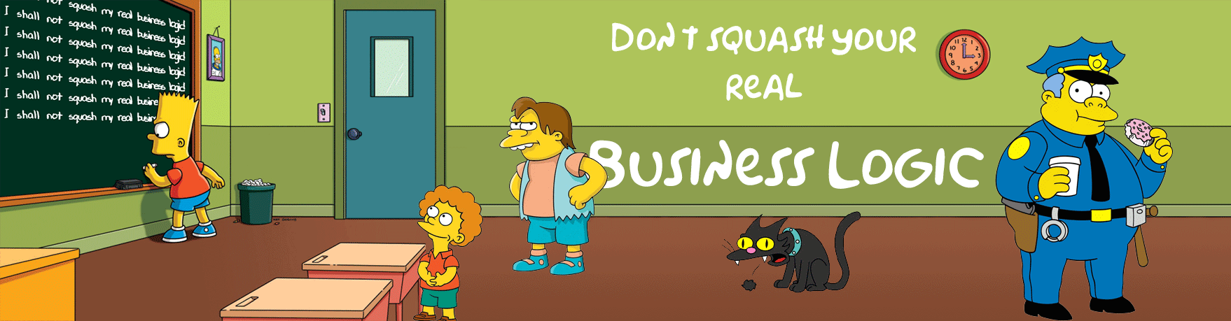 Don't squash your business logic